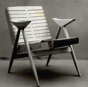 Židle od dvojice Berislav Jurinjak a Bogdana Budimirov, 1958